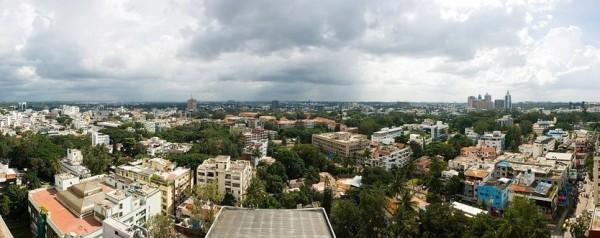 04 Bangalore skyline